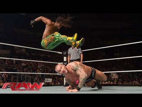 Kofi Kingston Vs. Randy Orton: Raw, Jan. 13, 2014 video