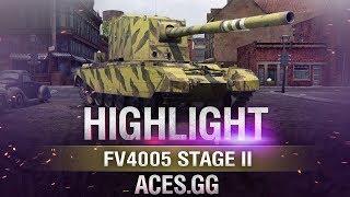 Пустынная бабаха! FV4005 Stage II в World of Tanks!