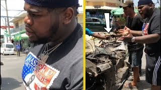 Fatboy SSE Upset At Guys Scrapping His Car!