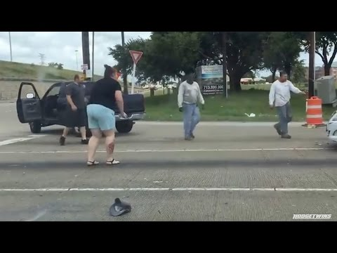 Road rage incident Houston, TX 5/14/2016 @Hodgetwins