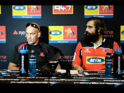 Lions Coach Mitchell looks ahead to the Crusaders