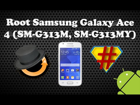 Como Ser Root en el Samsung Galaxy Ace 4 (SM-G313M y SM-G313MY)