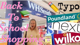 BACK TO SCHOOL SHOPPING VLOG!!📚- stationary, uniform & more!!💖