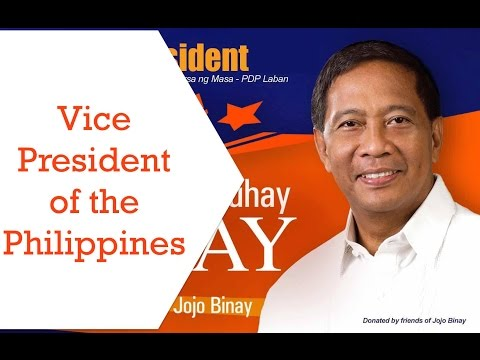Jejomar Binay - Vice President of the Philippines