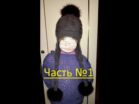 Как связать шапку с отворотом из толстой пряжи