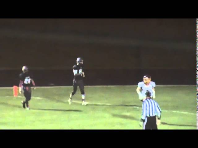 10-10-14 - 77 yard TD pass from Kyle Rosenbrock to Alec Petterson (Brush 55, University 14)