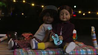 A Campfire Jam (American Girl Doll Stopmotion) FEAT. 4HappyHippos