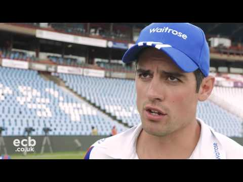 Player training feature: Alastair Cook