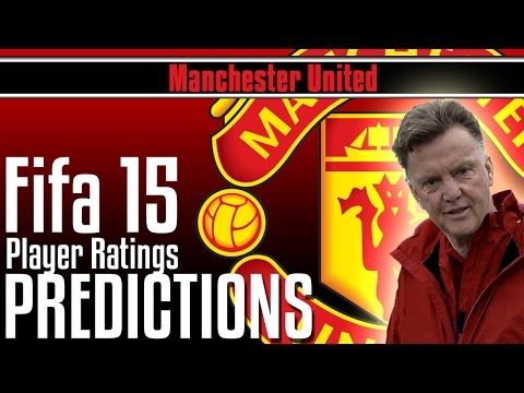 Fifa 15 | Manchester United Player Ratings MY PREDICTIONS | Falcao and Rooney!