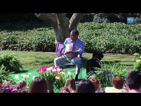 Obama Reads chicka Chicka Boom Boom To Kids video