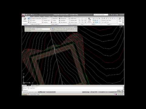 Download parcel grading in autocad civil 3d ascent for Pond design in civil 3d