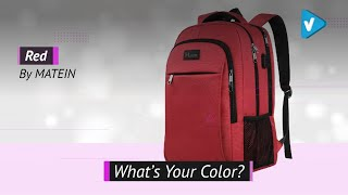 Laptop Backpack For Girls, Womens High School Backpack With USB Port