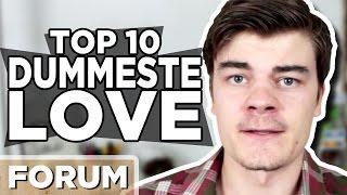 10 DUMMESTE Love I Verden!