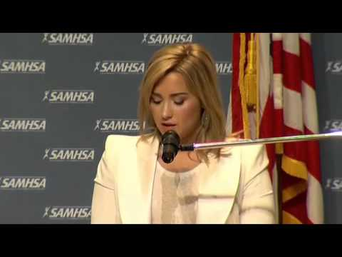 Demi lovato's speech