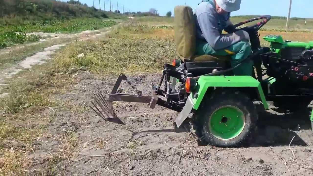 Саморобні міні трактори фото