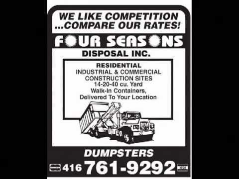 Waste Dumpster Bins In Toronto 416-414-6446