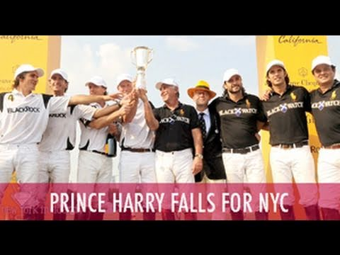 Prince Harry vs. Nacho Figueras on Governor's Island Video