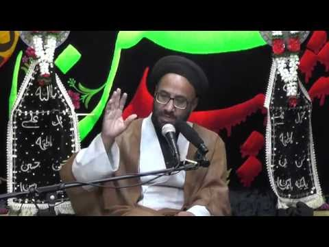 Majlis-Night Of 5th Muharram 1438 By Maulana Syed Moosa Raza Naqvi In Darbar-e-Masumeen.