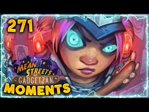 Sergeant Sally Prediction!! | Hearthstone Gadgetzan Daily Moments Ep. 271 (Funny and Lucky Moments)