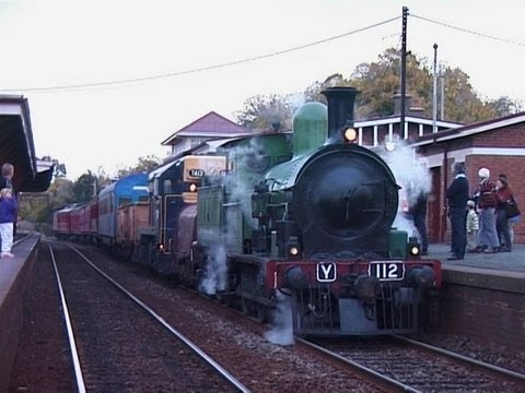 The Bendigo Rattler - SWRail/WCR steam train tour: Australian Trains