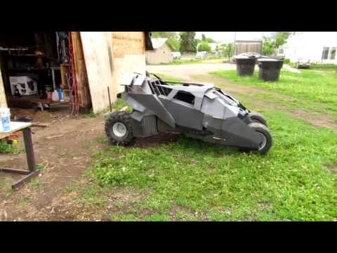 T-man's Batmobile go kart ( shocks )