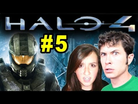 Toby and Niecebuscus Play Halo 4 - ENERGY SWORD - Part 5