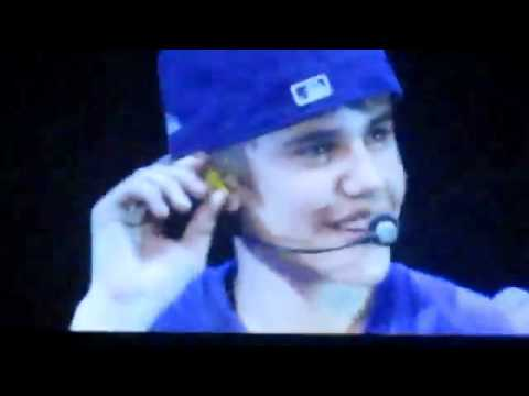 Justin Bieber Crying On Stage During Favorite Girl In Melbourne 2 May 2011 My World Tour video