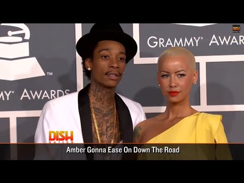 Amber Rose And Wiz Khalifa Are Getting A Divorce