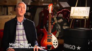 Julien's Auctions: The Collection of Ringo Starr & Barbara Bach: John Lennon  Guitar