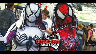 Comic Con Amsterdam 2018 :: Netherlands :: 4k Cosplay Music Video - Sevenblade