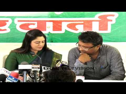 Caught On Camera: Nagma Off The Record Chat On Modi video