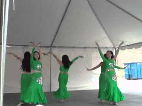 Chinese Peacock Dance at the Asian Festival in San Antonio, Texas in February 2010 Version 1