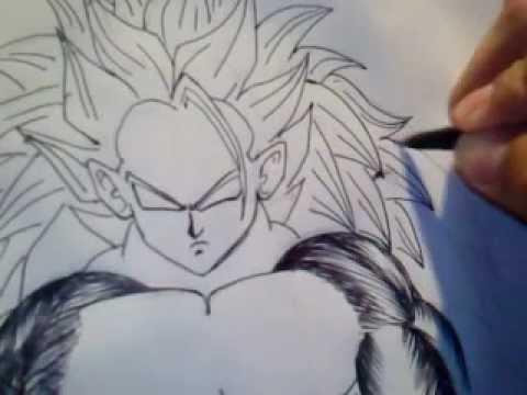 Paso Por Paso Para Dibujar a Goku Pasos Para Dibujar a Goku