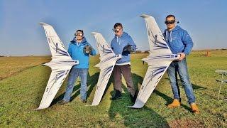 3 X E-FLITE OPTERRA™ 2mtr FPV FLYING WINGS - HORIZON HOBBY - AZZA, SONNY, PAUL - 2016