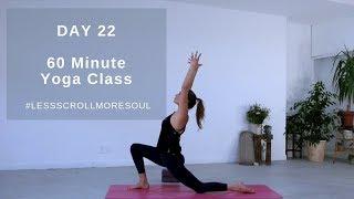 60 Minute Full Vinyasa Flow Yoga Class | Annie Clarke | Mind Body Bowl
