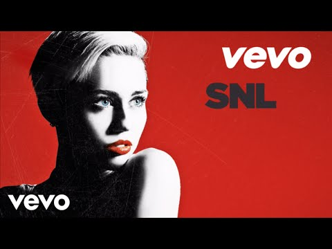 Miley Cyrus - We Cant Stop (Live On SNL)