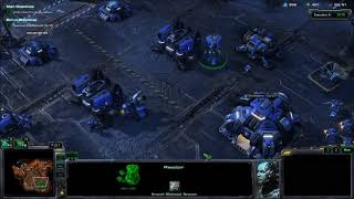 Starcraft 2 Wings of Liberty Campaign - Mission 3: Zero Hour