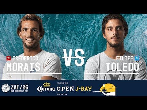 Frederico Morais vs. Filipe Toledo - FINAL - Corona Open J-Bay 2017