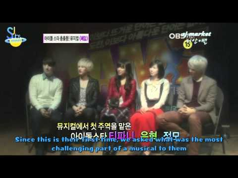 [ENGSUB] 111108 Fame Musical Showcase on Entertainment News (HD)