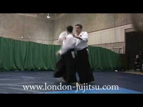 London Ju jitsu Sensei Chris Lacy 4th Dan throws Image 1