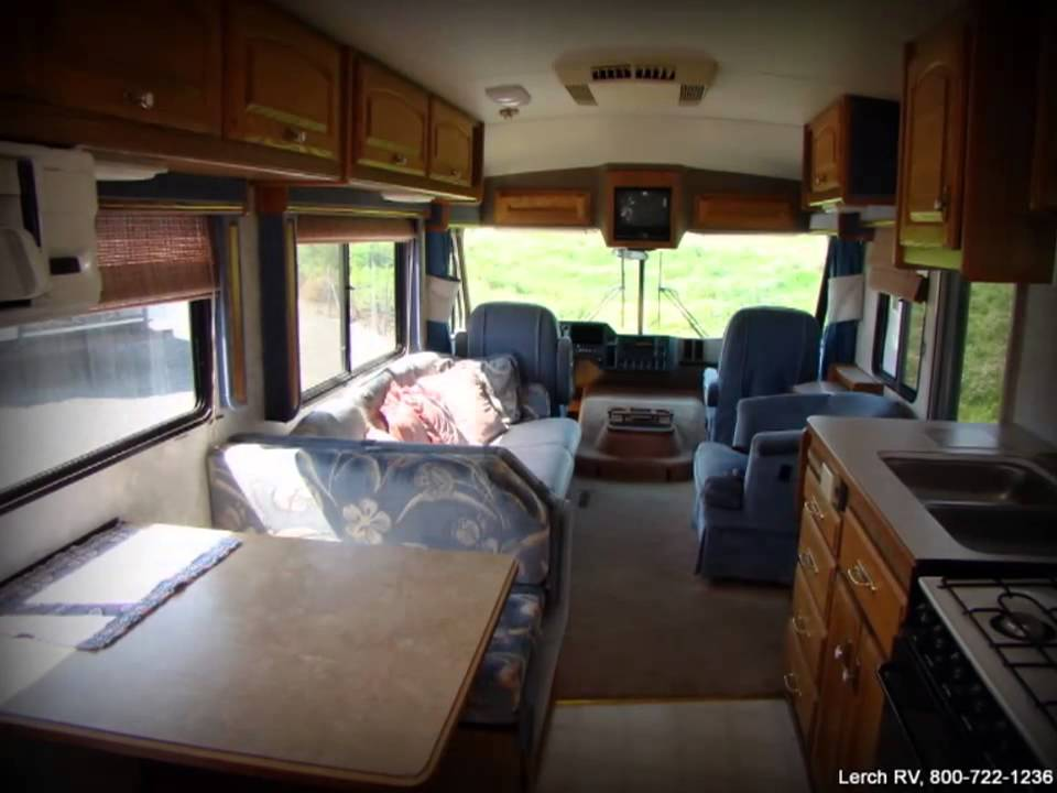 Used 1991 Fleetwood Pace Arrow Ml34 Motor Home Class A Rv