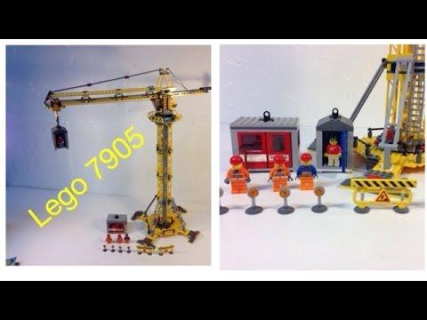 Lego Tower Crane Lego City 7905 Building Crane