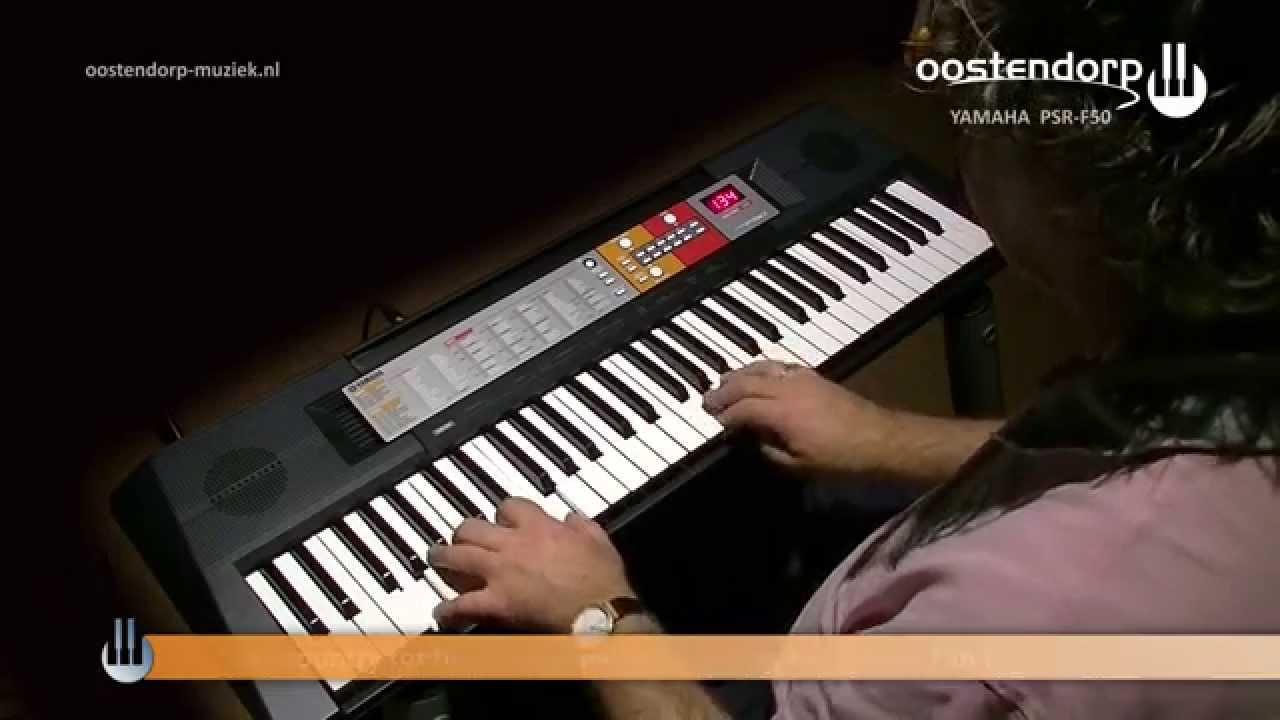 yamaha psr f50 keyboard beginners keyboard goedkoop. Black Bedroom Furniture Sets. Home Design Ideas