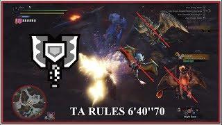 MHW PC | The Thronetaker Massacre | 6'40''70 Charge Blade TA Rules