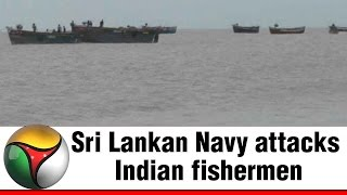 Sri Lankan Navy attacks Indian fishermen near Kodiyakarai