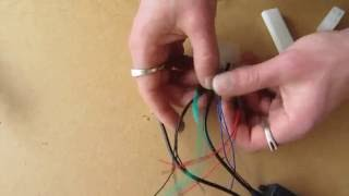 How to install Properly Connect Wire a RGB LED 12V DIY ไฟ led lighting