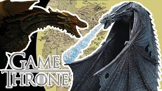 Game of Thrones Drogon & Icy Viserion Deluxe Figures