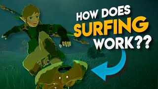 All HIDDEN Surfing Stats in Breath of the Wild EXPLAINED!!