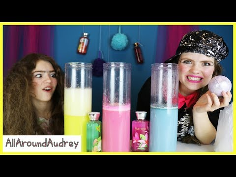 Gertie and Therma Bath Bomb Challenge / AllAroundAudrey