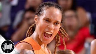 Brittney Griner calls out WNBA after fight for failing to protect players | The Jump